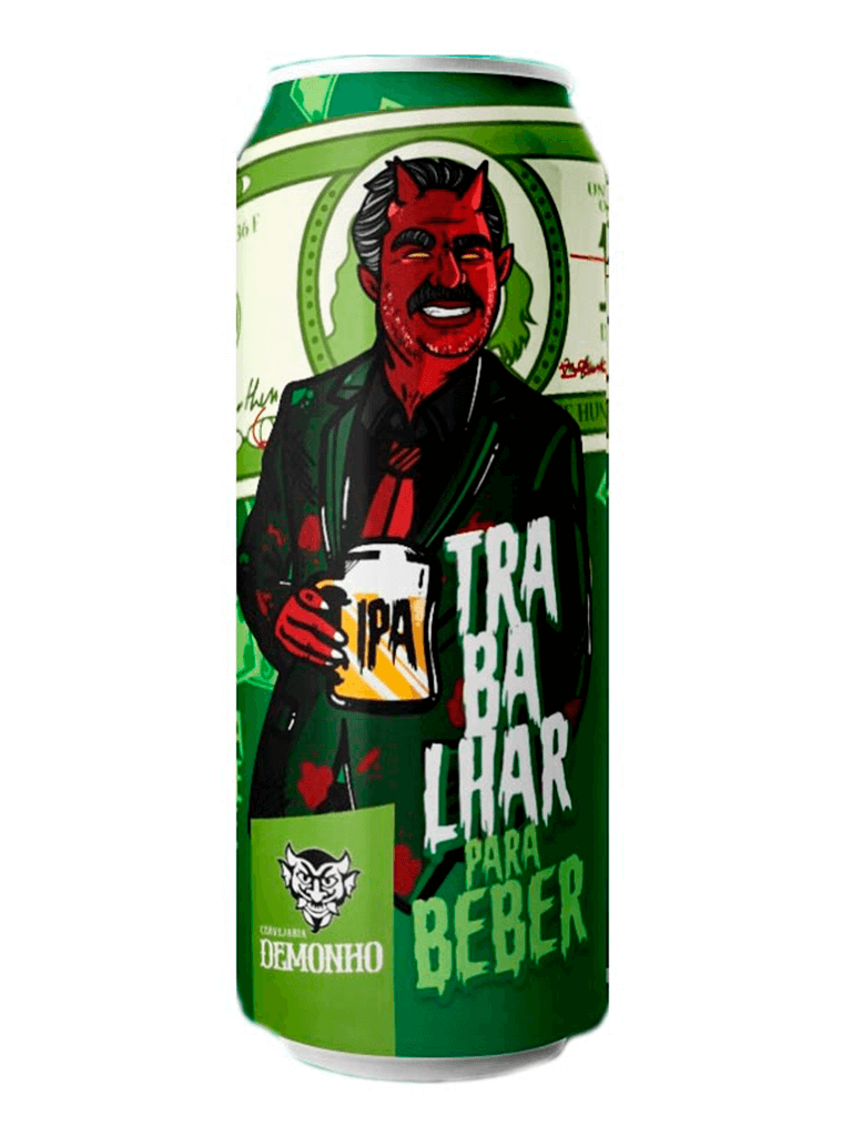 Cerveja Demonho Trabalhar para Beber 473ml