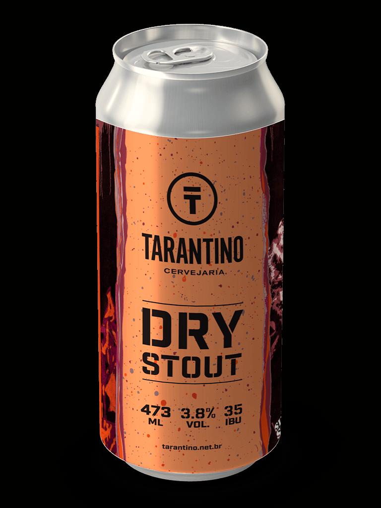 Cerveja Tarantino Dry Stout 473ml