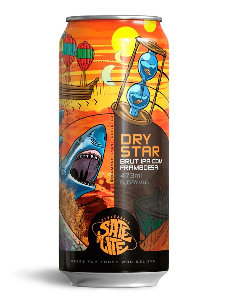 Cerveja DryStar Satélite 473ml