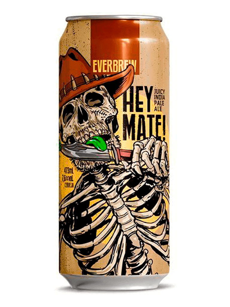 Cerveja Everbrew Hey Mate! 473ml