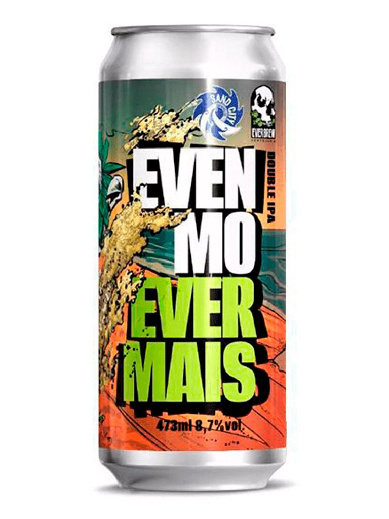 Cerveja Everbrew Sand City Brewing Co Even Mo Ever Mais 473ml