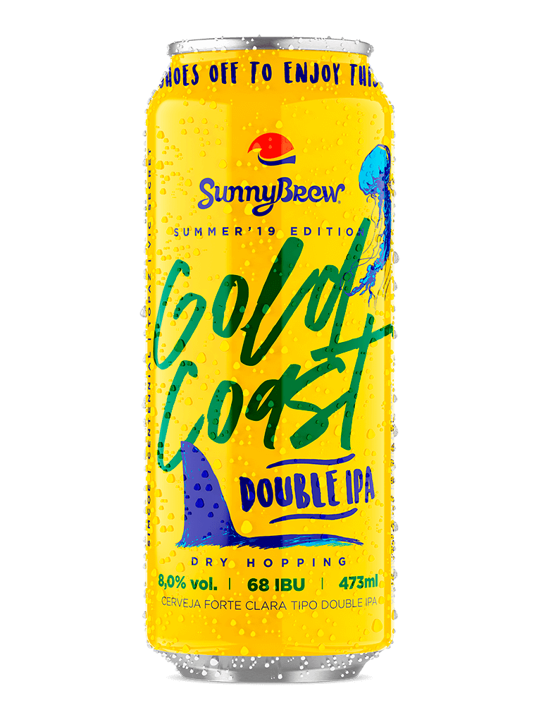 Cerveja SunnyBrew Gold Coast 473ml