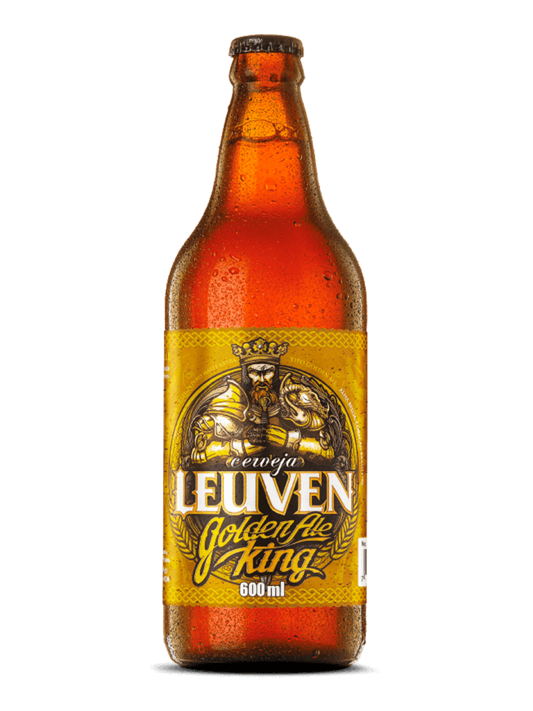Cerveja Golden Ale King Leuven 600ml