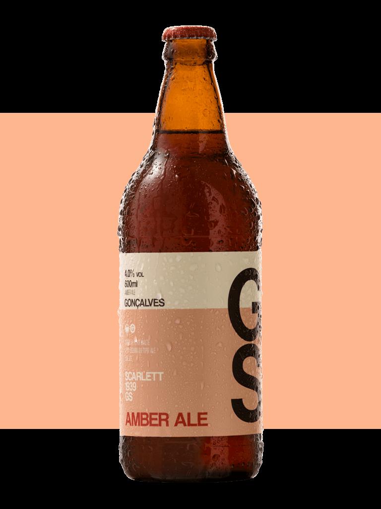 Cerveja Gonçalves Amber Ale 600ml