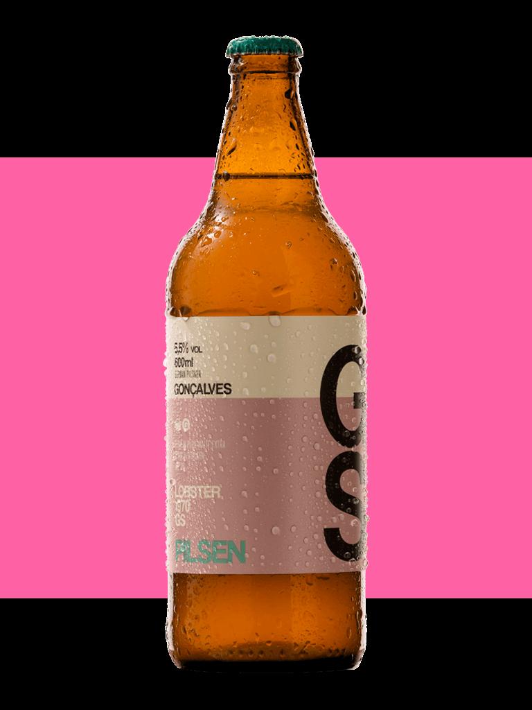 Cerveja Gonçalves German Pilsner 600ml