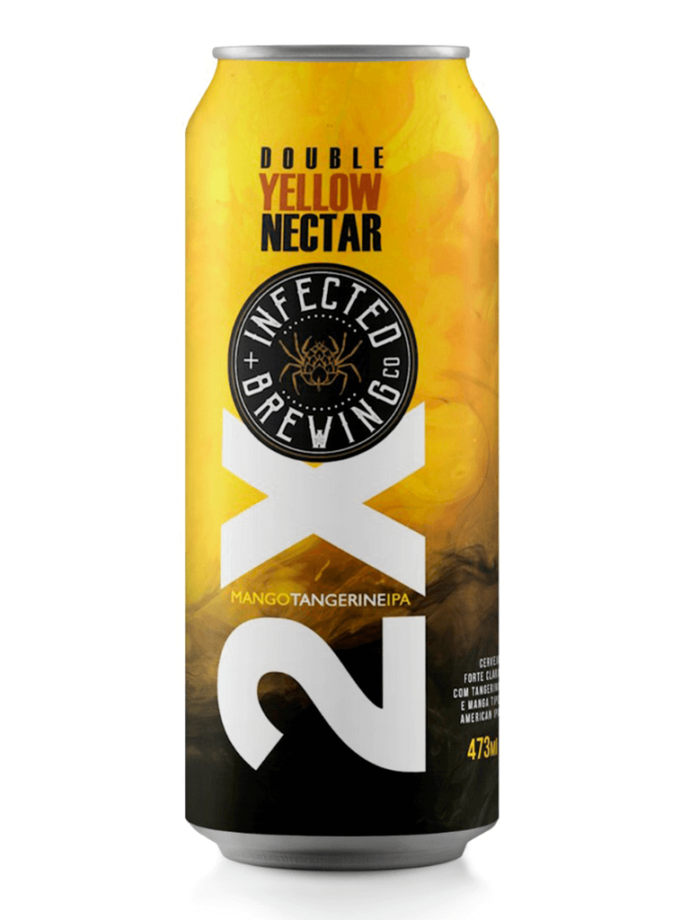 Cerveja Infected Brewing Double Yellow Nectar 473ml