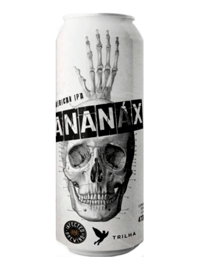 Cerveja Infected Brewing Trilha Ananax 473ml