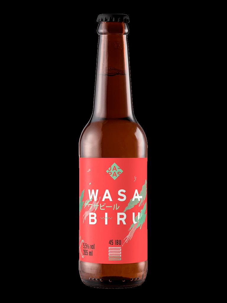 Cerveja Japas Wasabiru 355ml