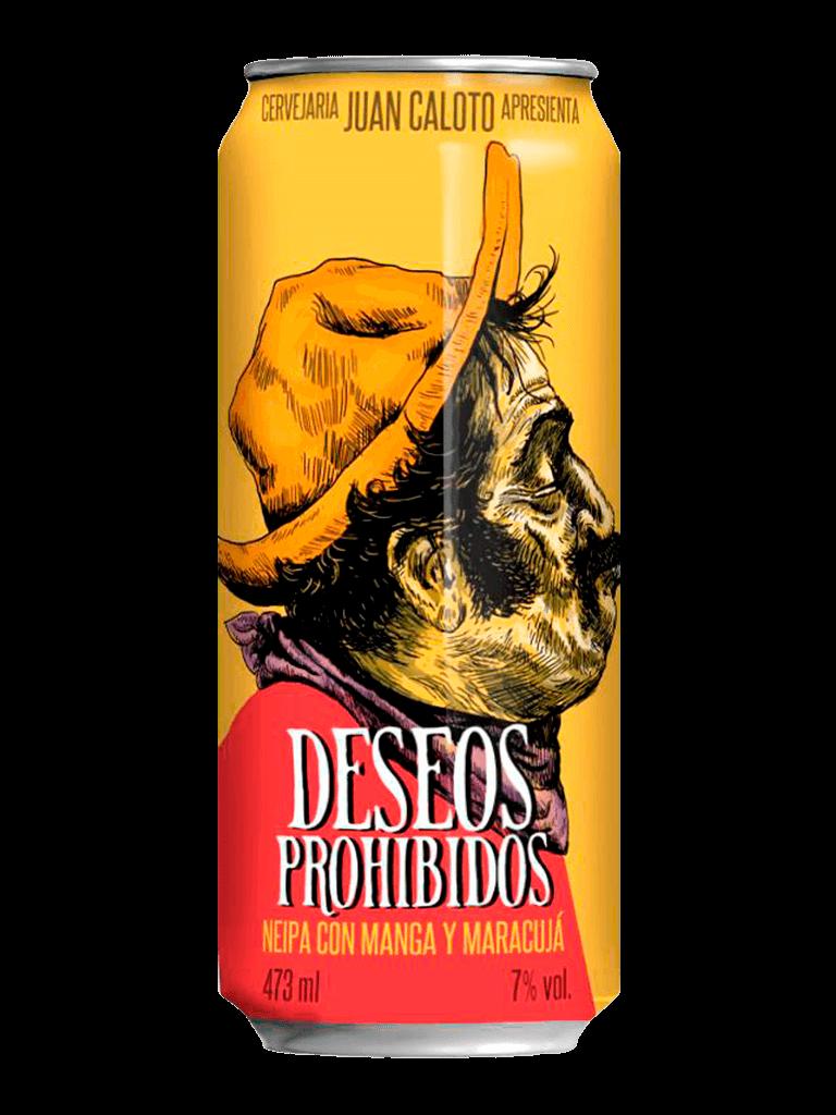 Cerveja Juan Caloto Deseos Proibidos 473ml