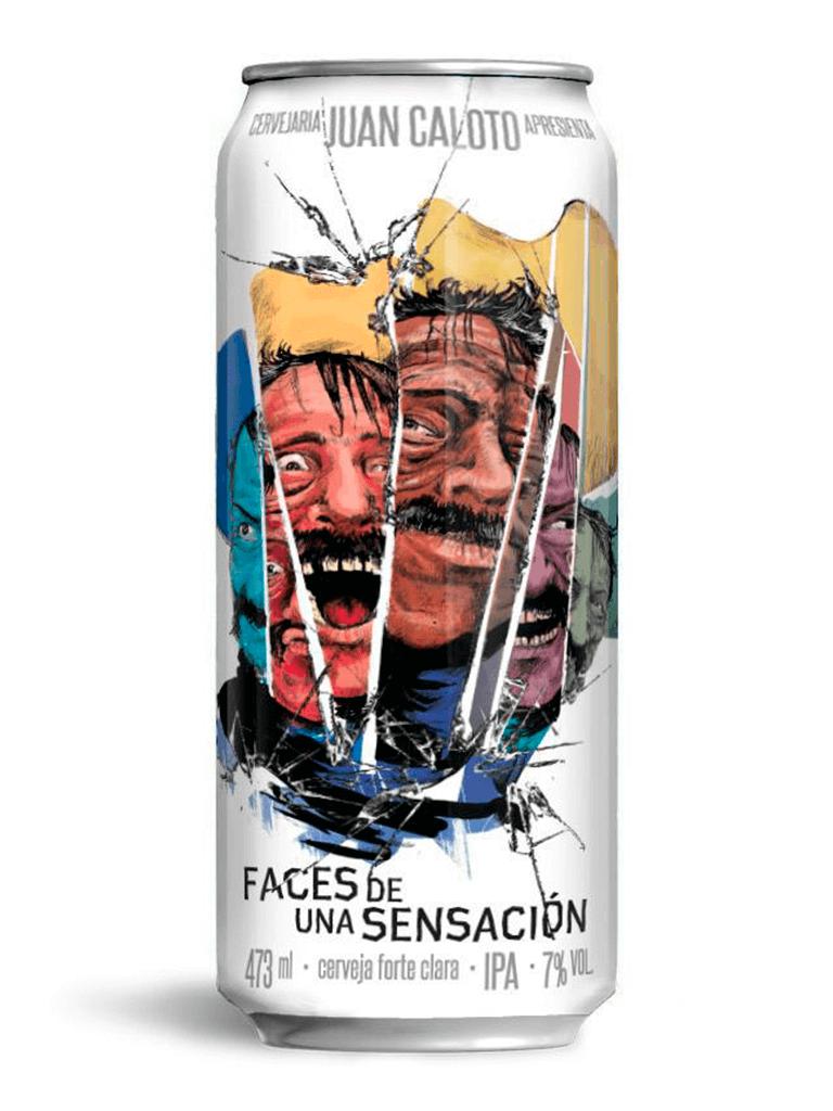 Cerveja Juan Caloto Faces de Una Sensación 473ml