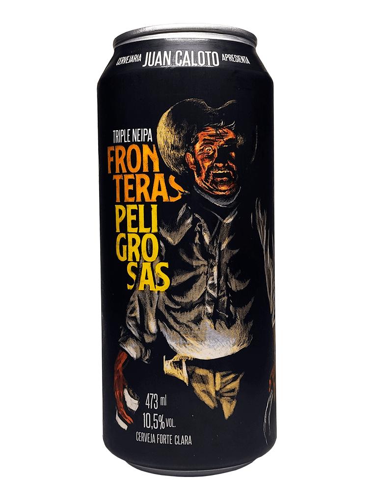 Cerveja Juan Caloto Fronteras Peligrosas 473ml