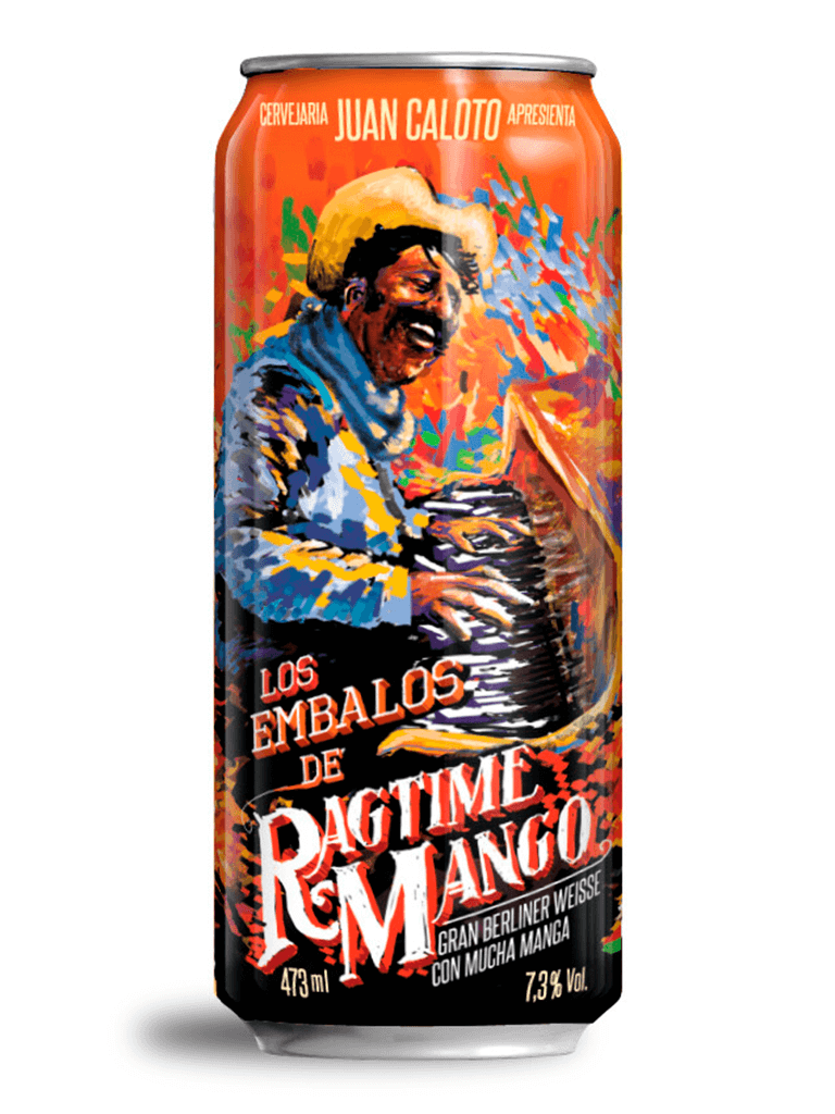 Cerveja Juan Caloto Los Embalos de Ragtime Mango 473ml