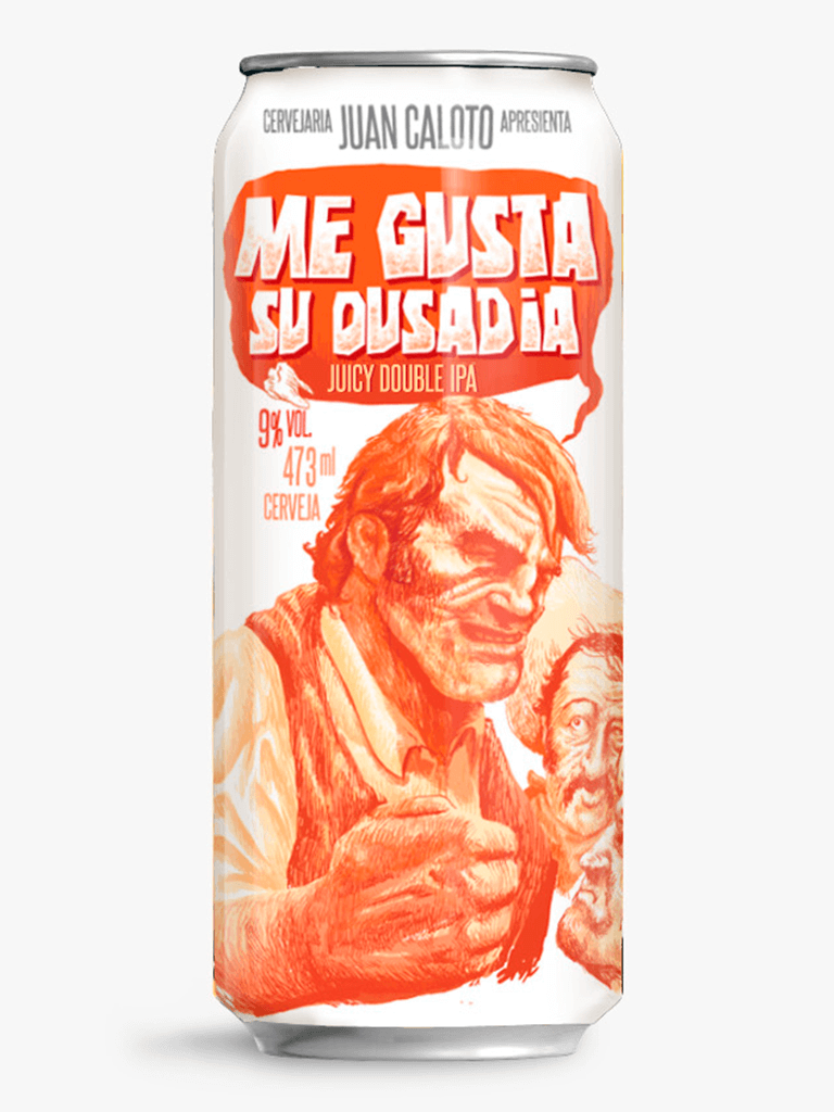 Cerveja Juan Caloto Me Gusta Su Ousadia 473ml