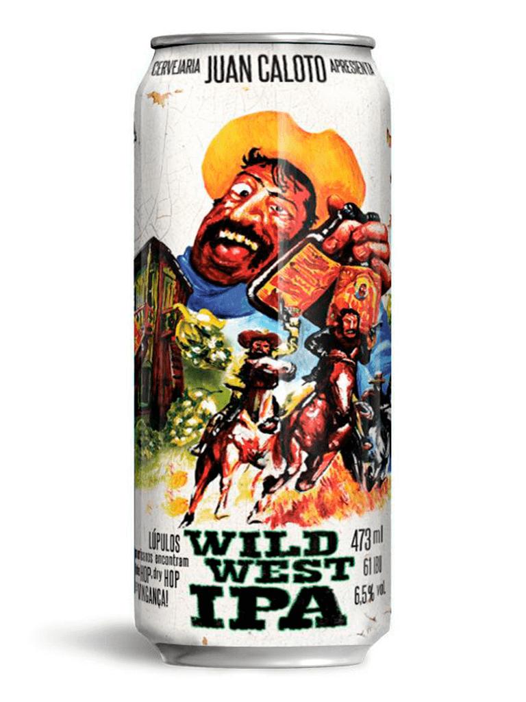 Cerveja Juan Caloto Wild West IPA 473ml