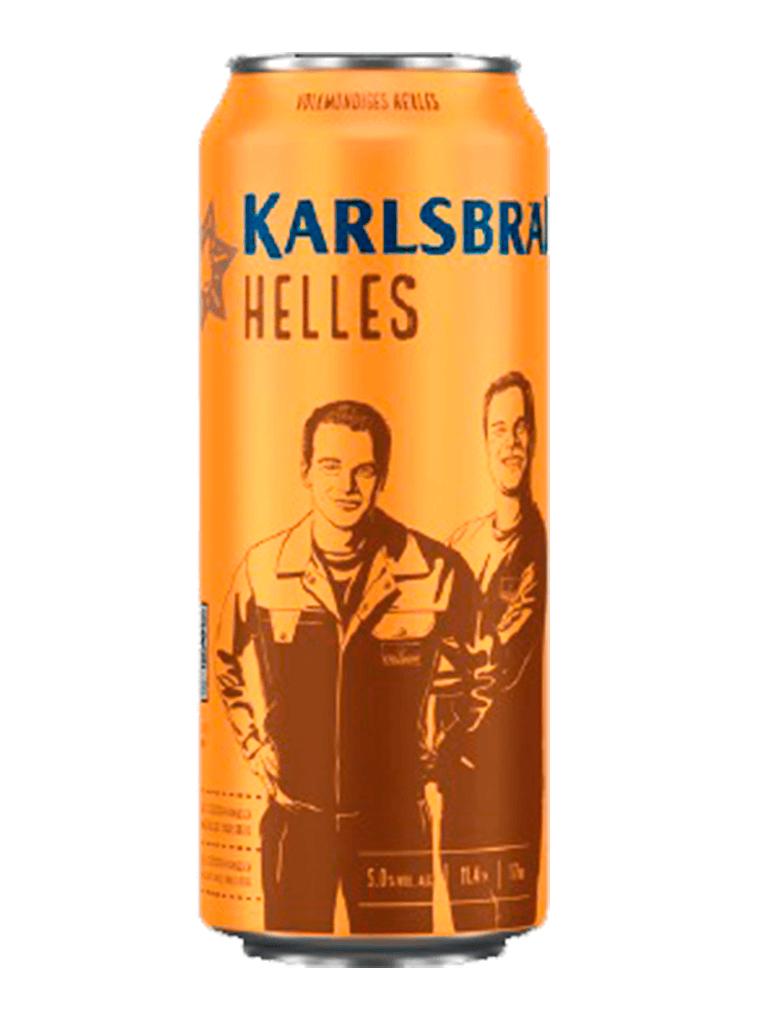 Cerveja Karlsbrau Helles 500ml