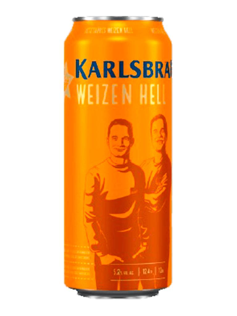 Cerveja Karlsbrau Weizen Hell 500ml