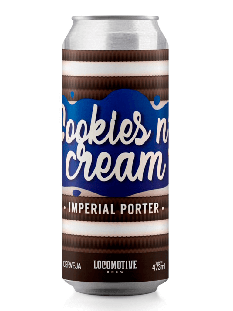 Cerveja Locomotive Cookies n Cream 473ml
