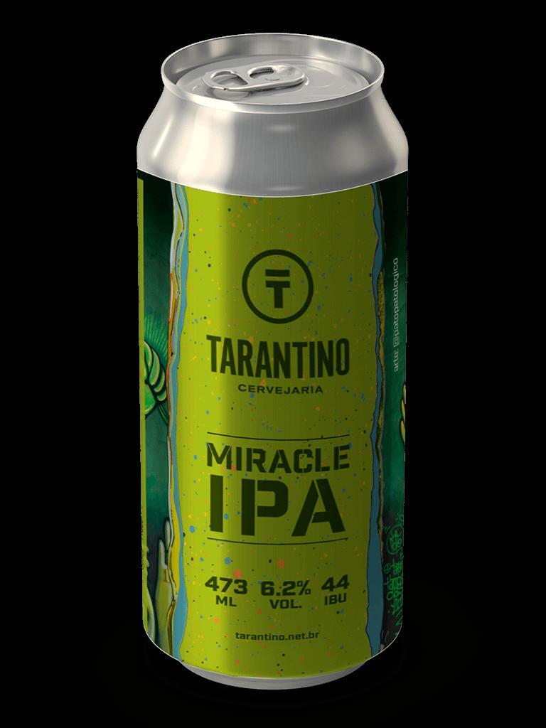 Cerveja Tarantino Miracle IPA 473ml