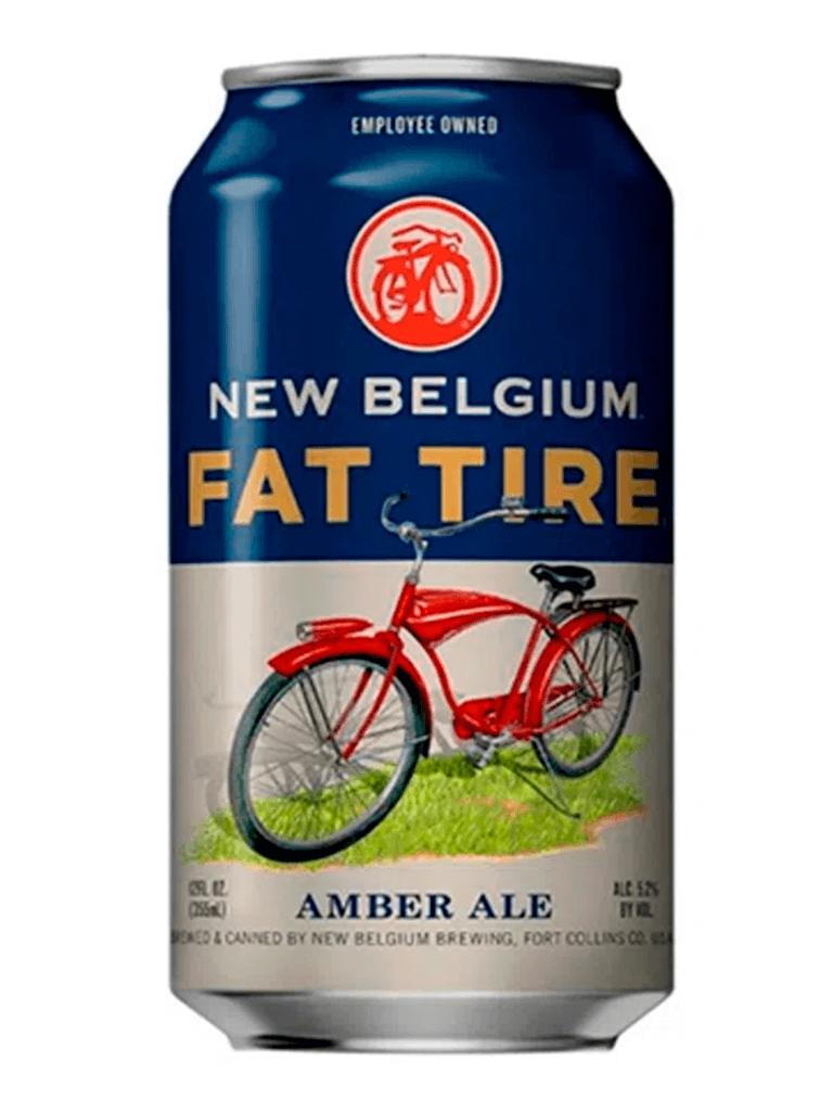Cerveja New Belgium Fat Tire 355ml