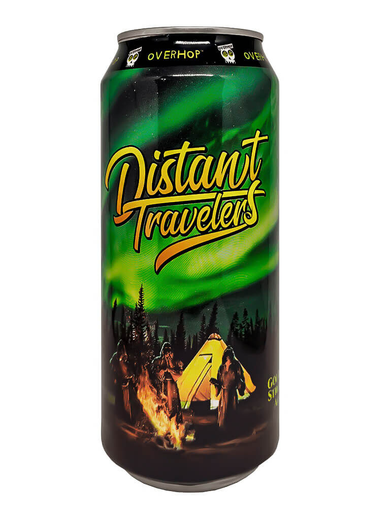 Cerveja Overhop Distant Travelers 473ml