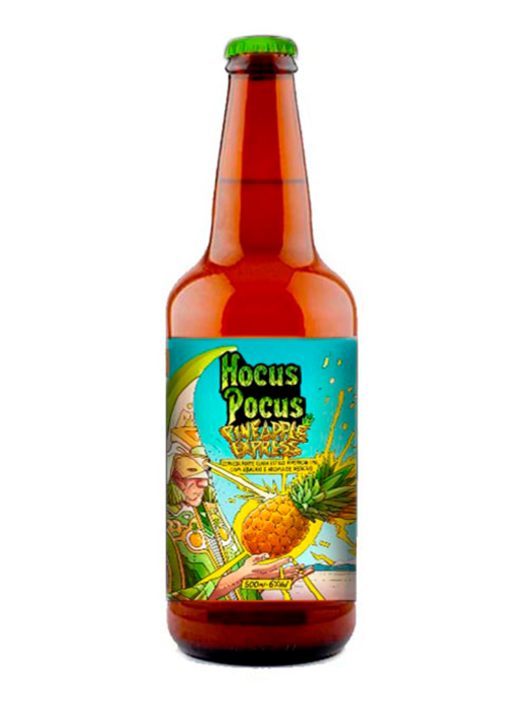 Cerveja Pineapple Express Hocus Pocus 500ml