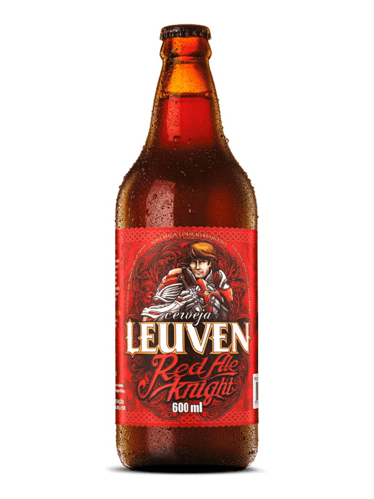 Cerveja Red Ale Knight Leuven 600ml