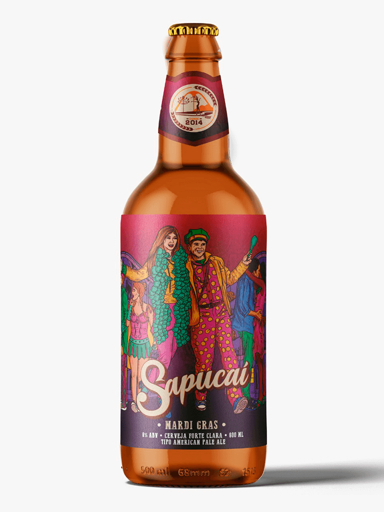 Cerveja Sapucaí American Pale Ale 600ml