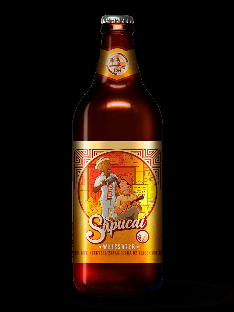 Cerveja Sapucaí Weissbier 600ml