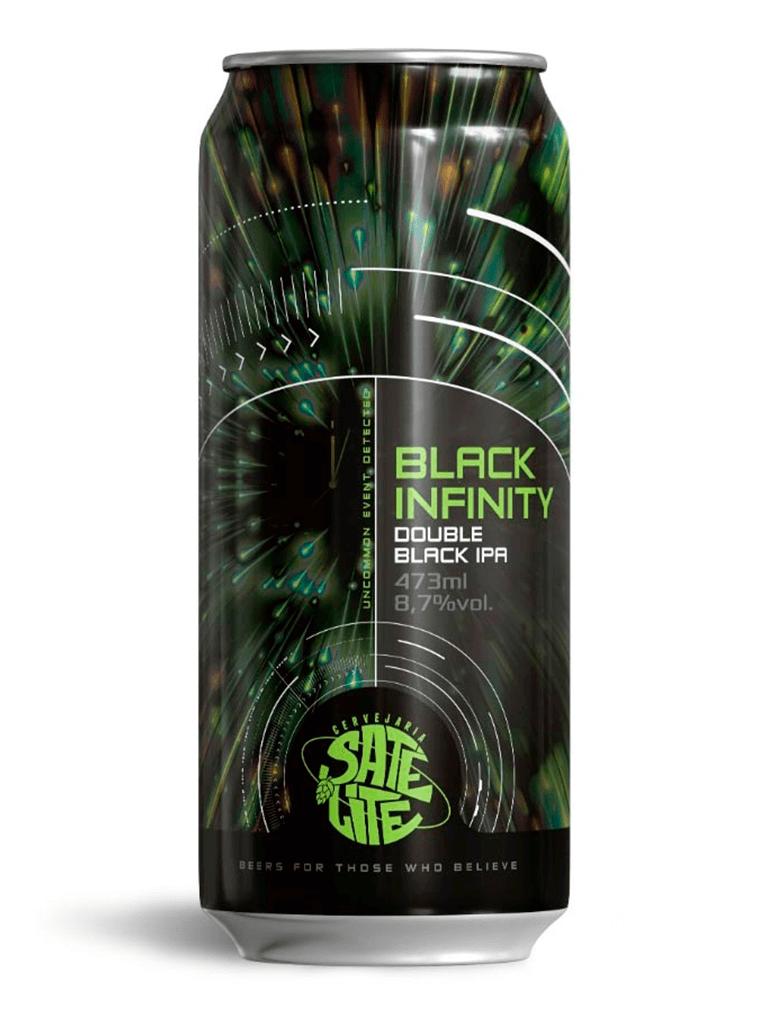 Cerveja Satélite Black Infinity 473ml