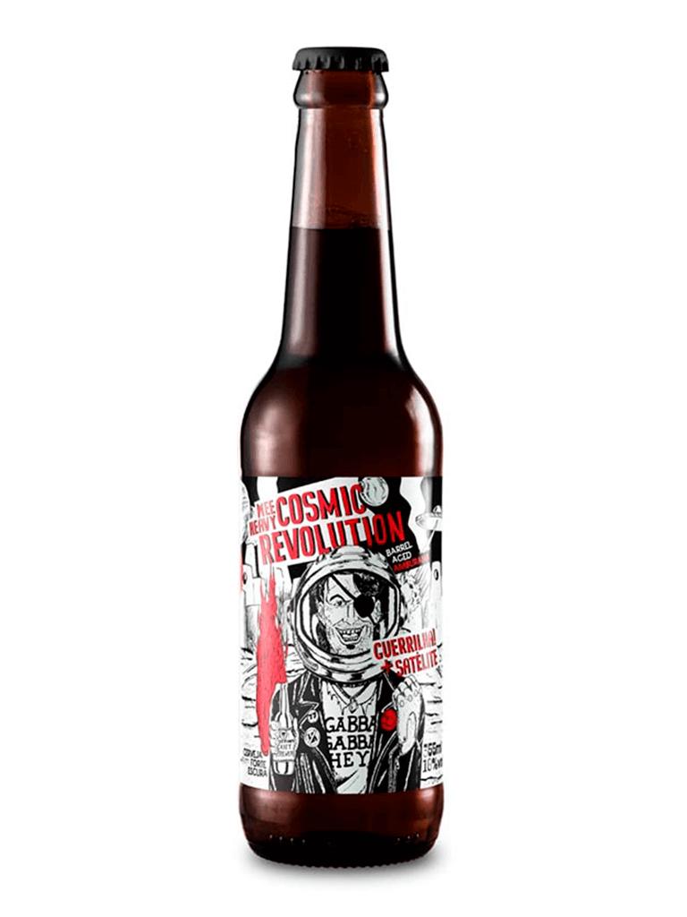 Cerveja Satélite Guerrilha Cosmic Revolution 355ml