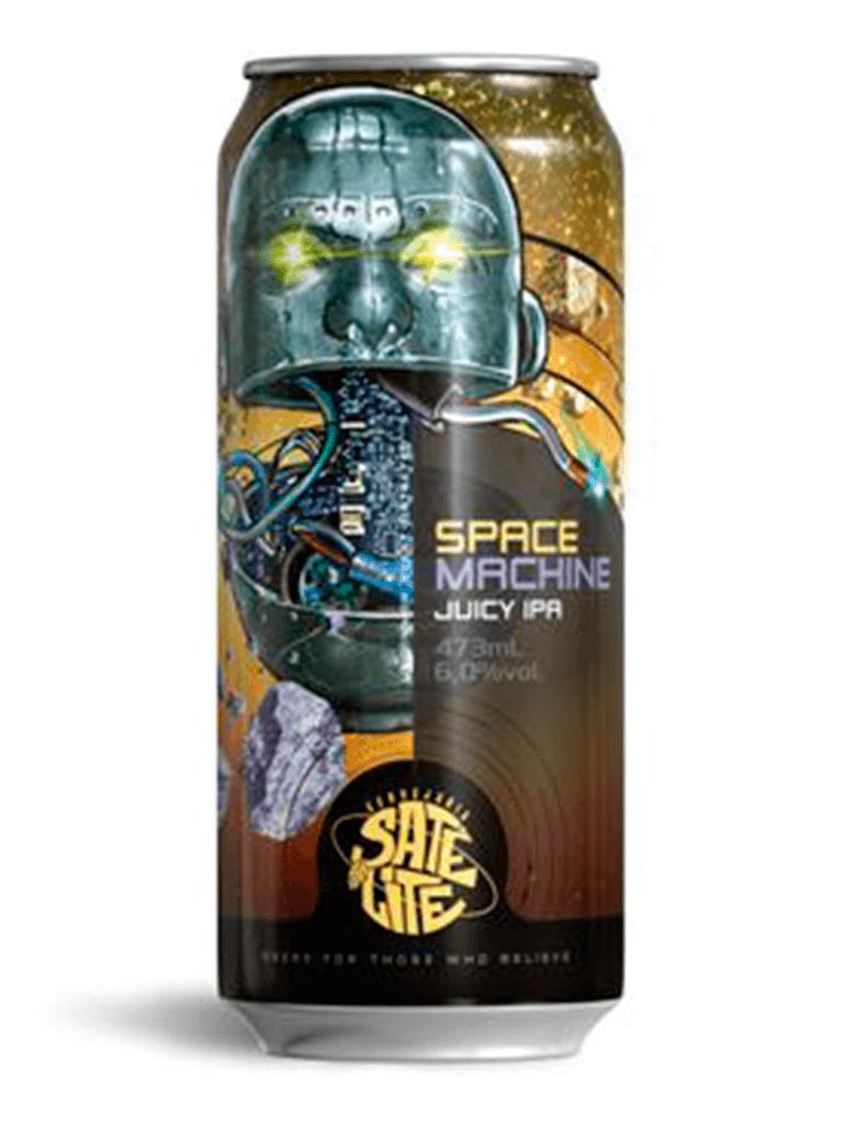Cerveja Satélite Space Machine 473ml