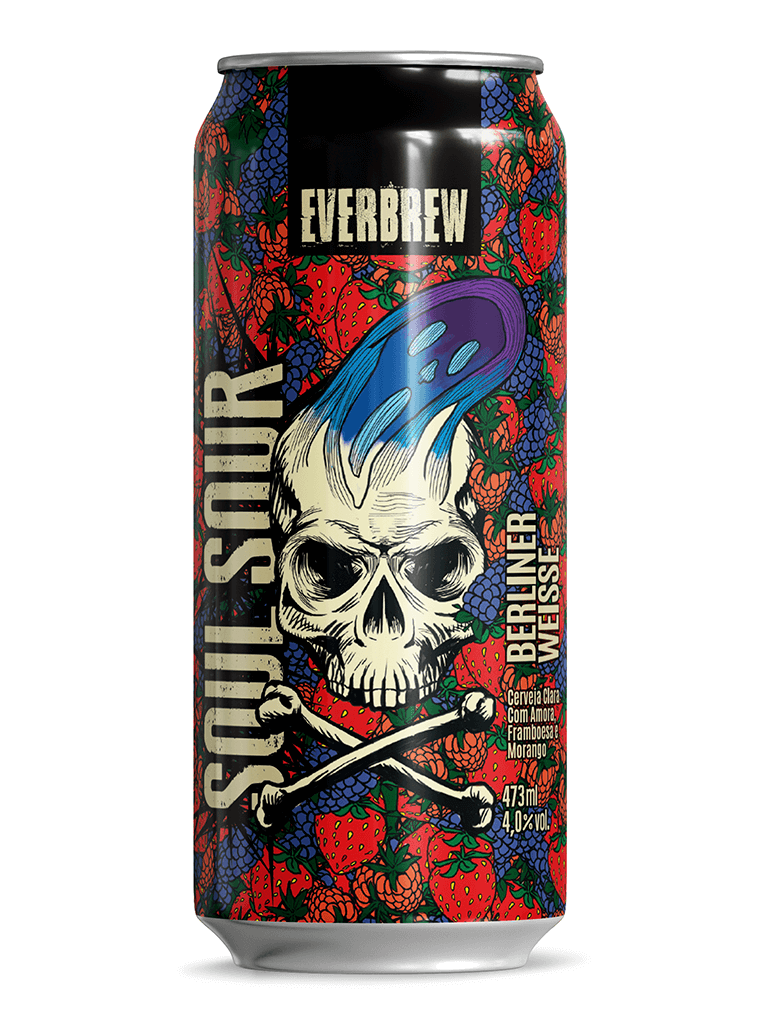 Cerveja EverBrew Soul Sour 473ml