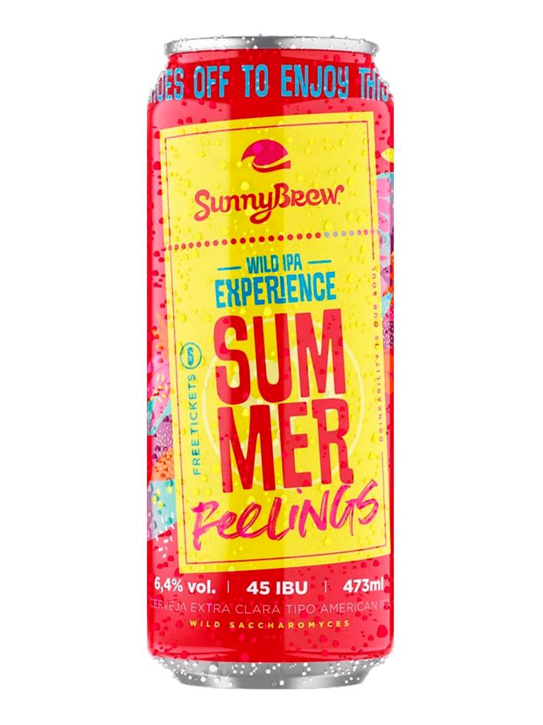 Cerveja SunnyBrew Summer Feelings 473ml