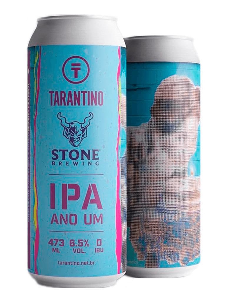 Cerveja Tarantino Stone Ano Um IPA 473ml