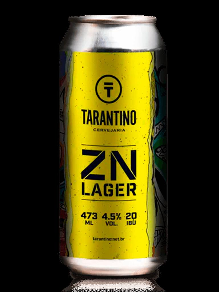 Cerveja Tarantino ZN Lager 473ml