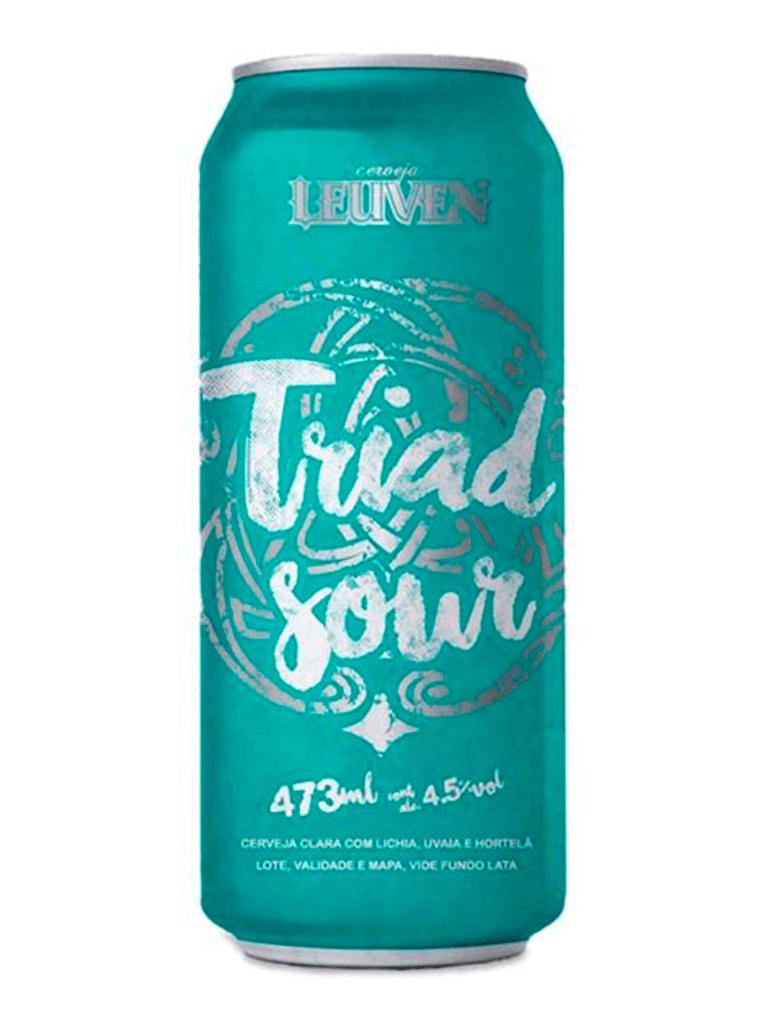 Cerveja Leuven Triad Sour 473ml