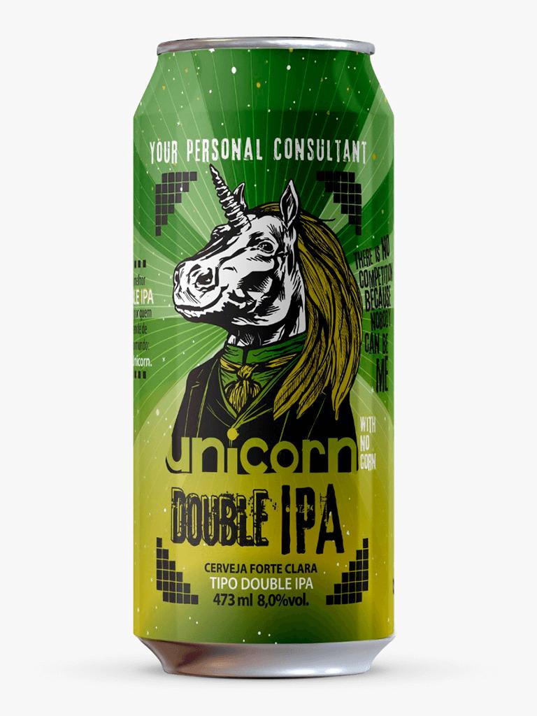 Cerveja Unicorn Double IPA 473ml
