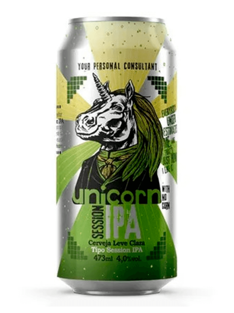 Cerveja Unicorn Session IPA 473ml