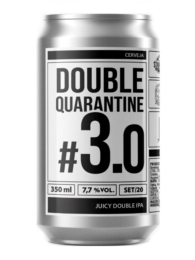 Cerveja Ux Brew Double Quarantine #3.0 350ml