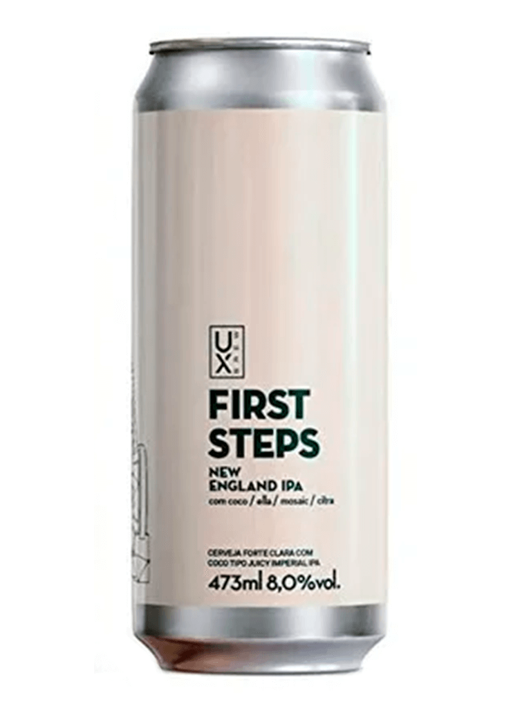 Cerveja Ux Brew First Steps 473ml