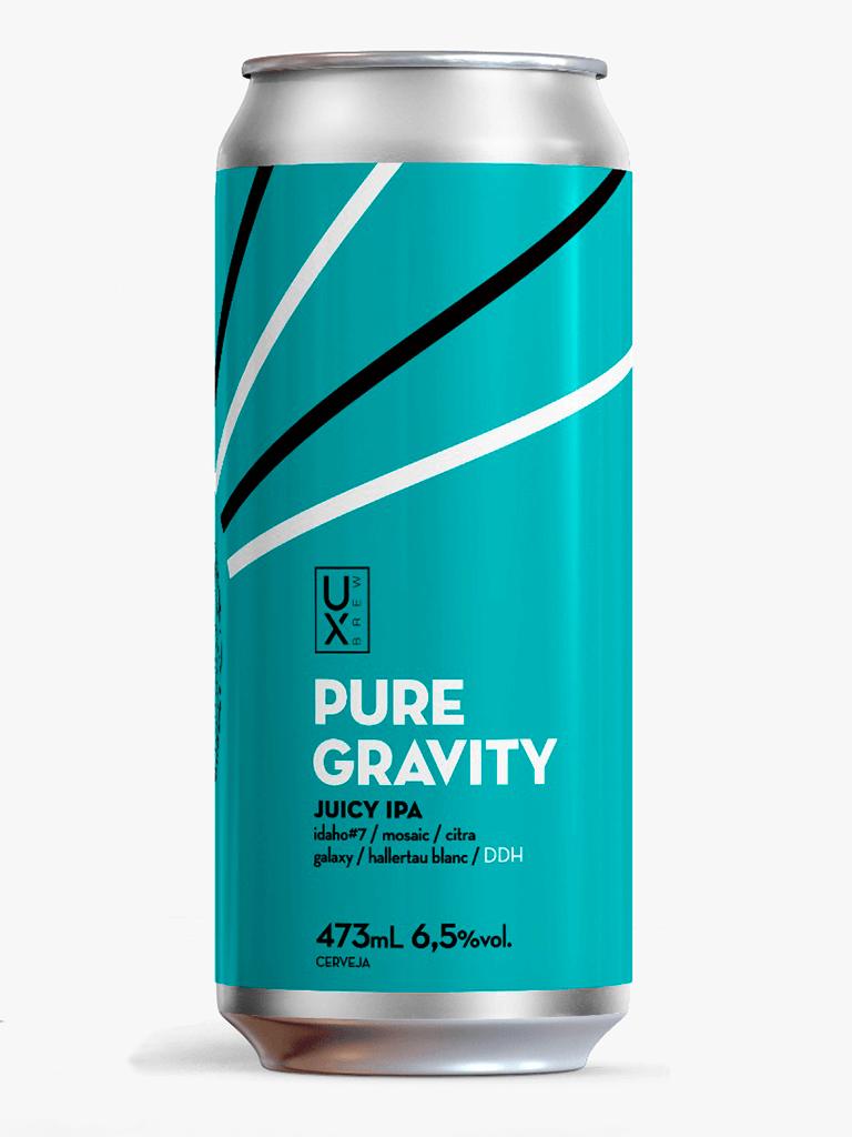 Cerveja UX Brew Pure Gravity 473ml