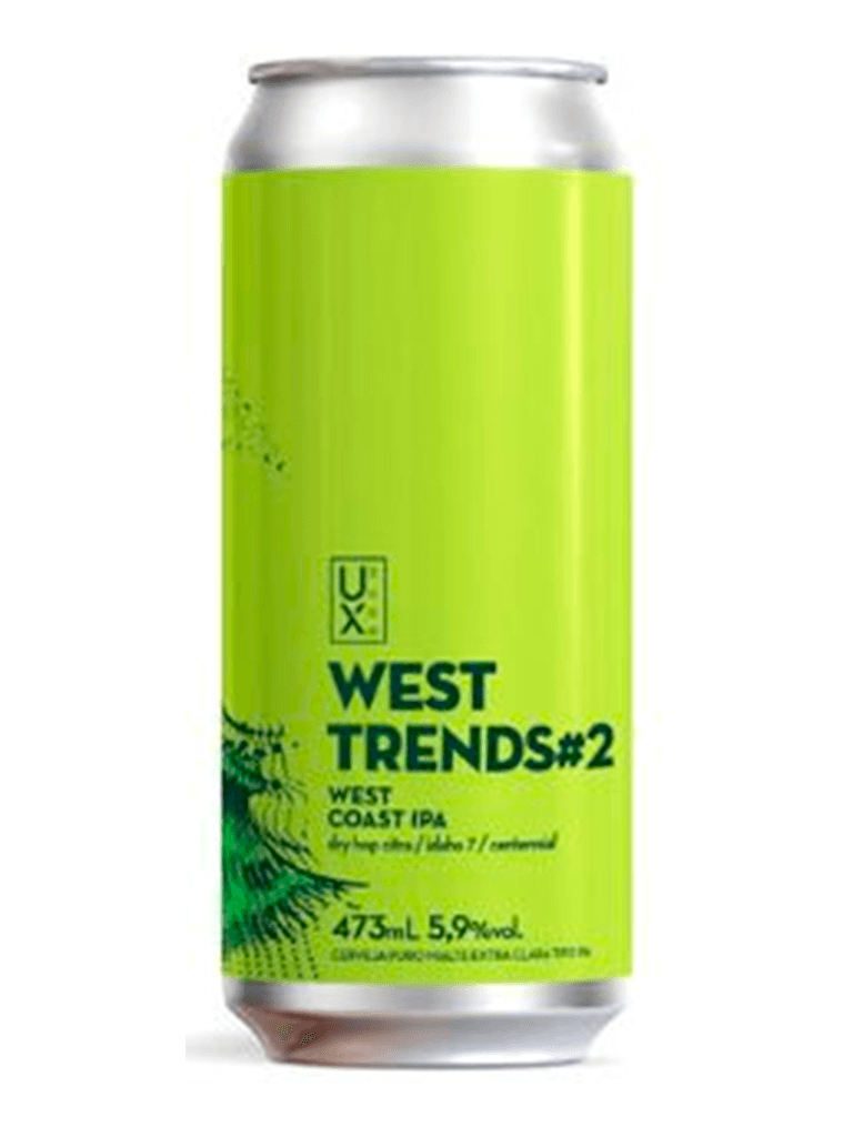 Cerveja Ux Brew West Trends #2 473ml