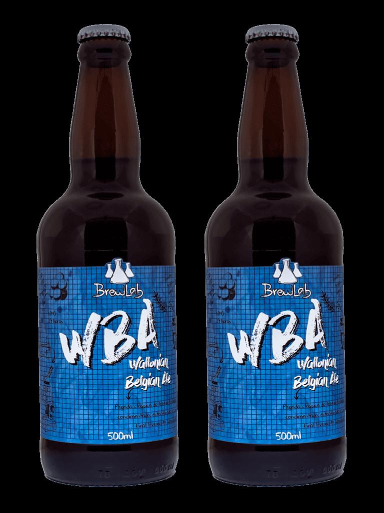 Cerveja Wallonian Belgian Ale (WBA) Brewlab 500ml - Compre 1 Leve 2