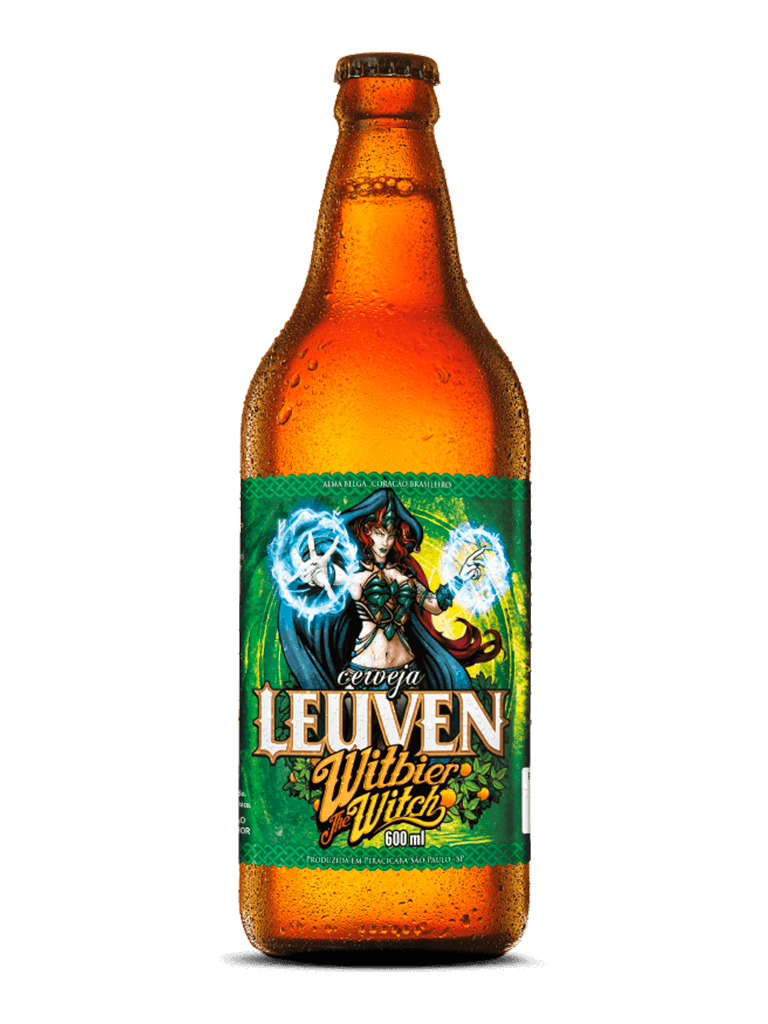 Cerveja Leuven Witbier The Witch 600ml
