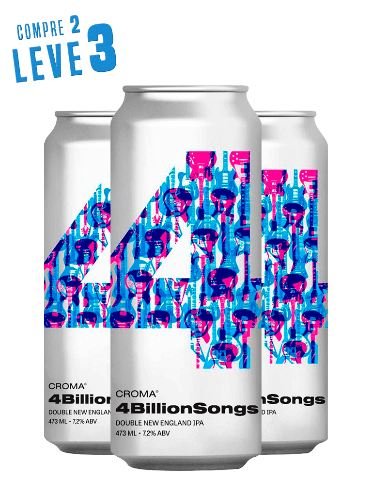 Kit Croma 4 Billion Songs - Compre 2 Leve 3