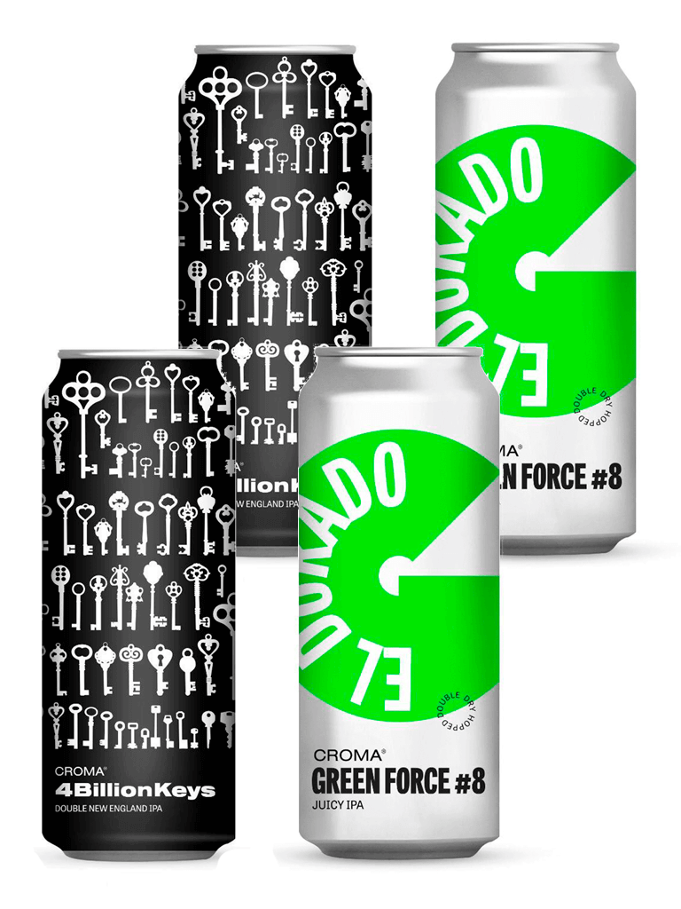 Kit Croma Green Force #8 e 4 Billion Keys 473ml
