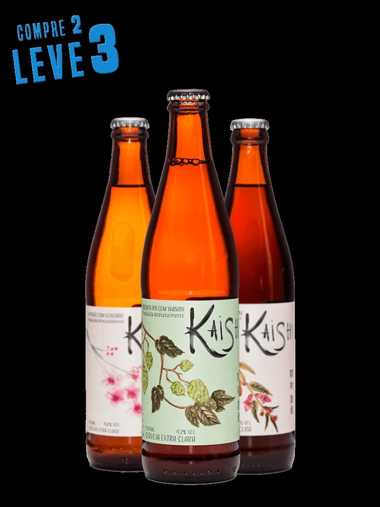 Kit Sun Hop Serie Kaishi - Compre 2 Leve 3