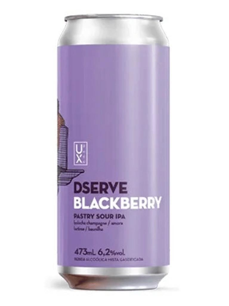 Cerveja Ux Brew Dserve Blackberry 473ml