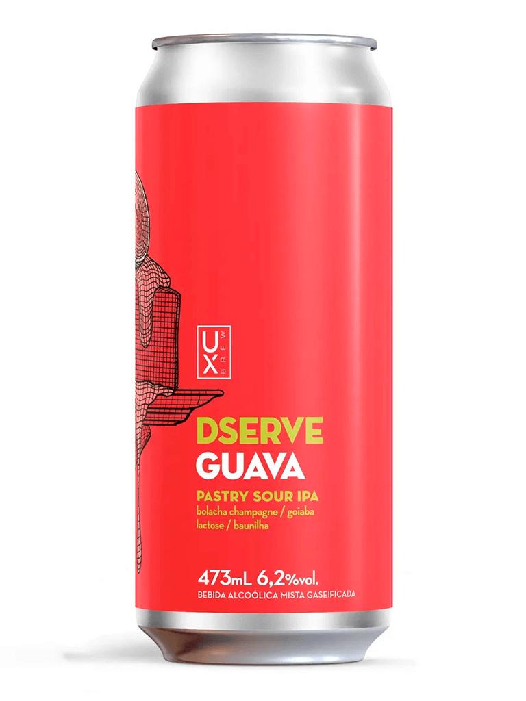 Cerveja Ux Brew Dserve Guava 473ml