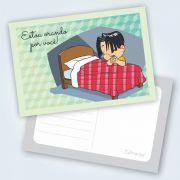 Cartão Estou Orando Por Você! - Aventureiros - Pacote Com 25 Unidades